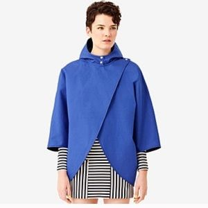 Kate spade reversible cape ponche NWT